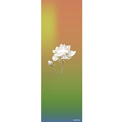 ECO-FRIENDLY, BEACH PRINTED, NON-SLIP YOGA MAT, WITH STRAP (Multi-Color) READ MORE ABOUT IT IN DESCRIPTION For Sale