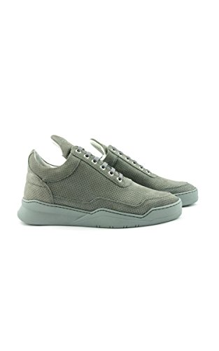 Filling Pieces Sneakers In Pelle Mod Low Top Ghost