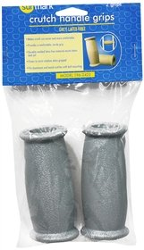 Sunmark Crutch Handle Grips Gray - 2 each, Pack of 2