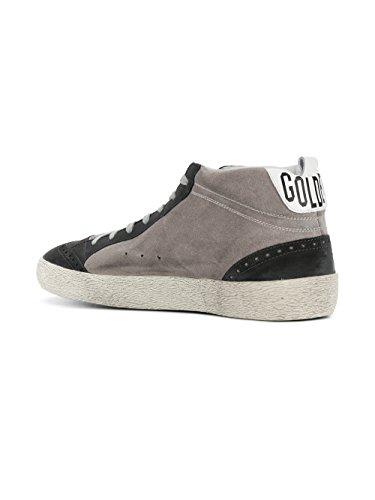 Gouden Gansmensen G32ms634i9 Grijs Suède Hi Top Sneakers
