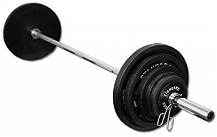 CAP Barbell 300 Pound Rubber Grip Olympic Weight Plate Set  sc 1 st  Amazon.com & Amazon.com : CAP Barbell 300 Pound Rubber Grip Olympic Weight Plate ...