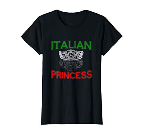 Womens Italian Princess Tiara T Shirt