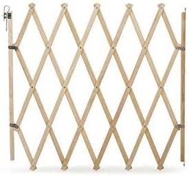 Bettacare 10660 - Barrera Para Mascotas, Extensible, 60 -108cm, Madera Natural: Amazon.es: Productos para mascotas