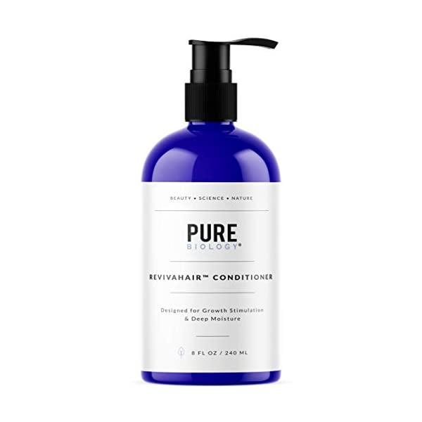 Pure Biology RevivaHair Conditioner with Procapil For Growth Stimulation & Deep Moisture, 8fl oz/240ml
