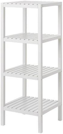 Zigzag Trading Ltd IKEA muskan - Estantería Blanca: Amazon.es ...