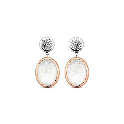 Boucles d'oreilles Ti Sento Milano Femme-7699MW Argent Zirconia