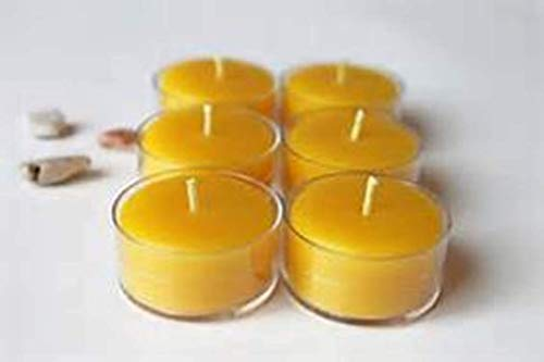 100% natural Beeswax Tea Light Candles 200 pk