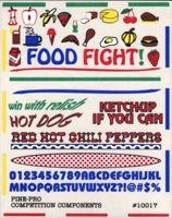 Food Fight Related to Foods Decal (D)
