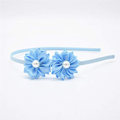 Hairband Pearl Accessories Flower Hairbands Beautiful Hoop Princess Band Head Of For Girls Headband Hair -