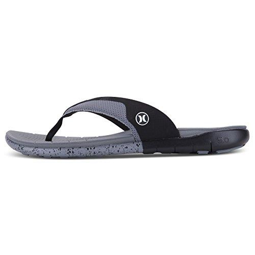 Hurley Mens Phantom Gratis Sandal Sval Grå