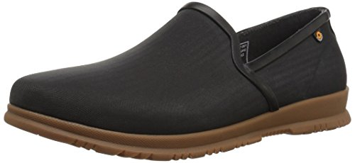 Bogs Women's Sweetpea Slip on Rain Boot, Black, 8 M US