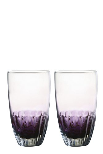 DRH Anton Studios Solar Set of 2 Hiball Tumblers Glasses in Purple by DRH