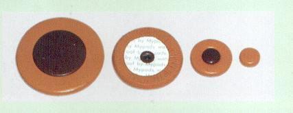 ZAPATILLAS SAXOFON BARITONO - My Pads (WS.110) Juego Completo para Yamaha, Resonador Plastico