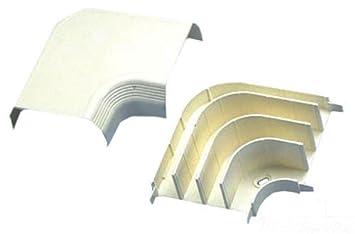 Panduit T70RAIW Embellecedor de cables de esquina exterior - Accesorio (Embellecedor de cables de esquina