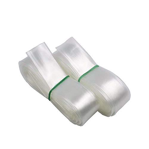 3//4in Diameter, 30 Feet Length HobbyUnlimited Polyolefin 2:1 Clear Transparent Heat Shrink Tubing