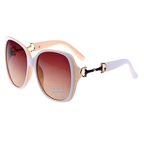 CherryGoddy Sunglasses Tide Yurt Gradient Color - Strap Sunglass Monogrammed
