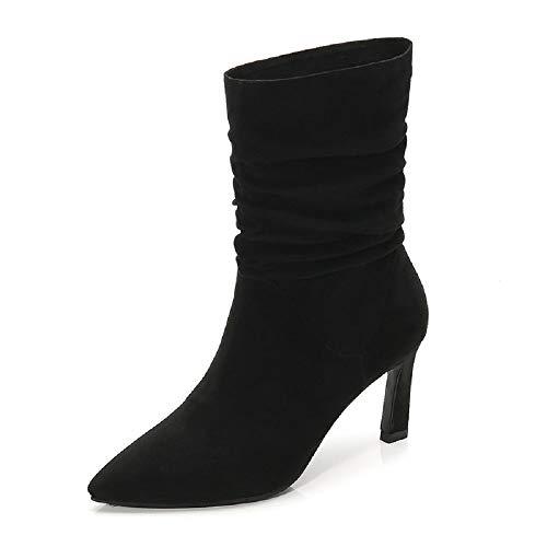Chaton De En Taille Chaussures Fuxitoggo Marron 37 Coloré Noir Cuir AwqfH0EP