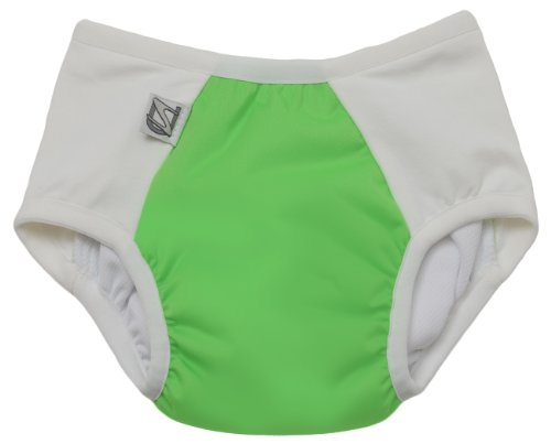 Super Undies Potty Training Pants Green Medium (System Step Training Potty)