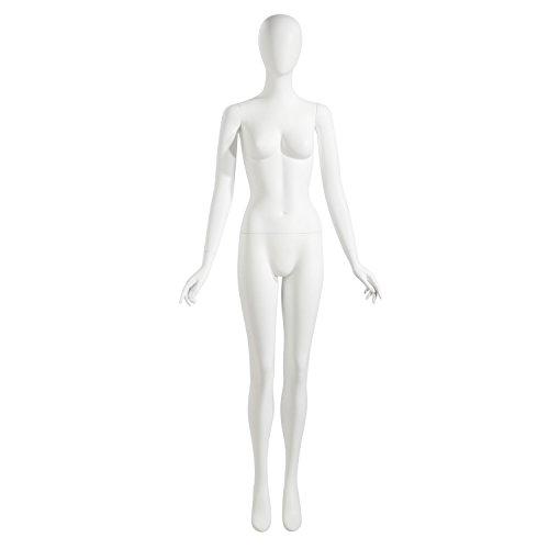 Head Mondo (Mondo Mannequins NIK1OV Female Mannequin, Oval Head, Arms by Side)