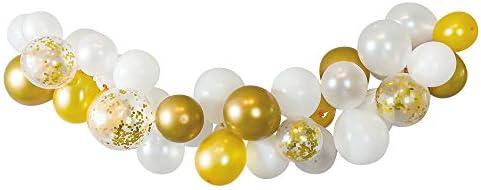 regalo バルーンガーランドキット バルーン 誕生日 飾り付け 風船 DIY (ゴールドスタイル)