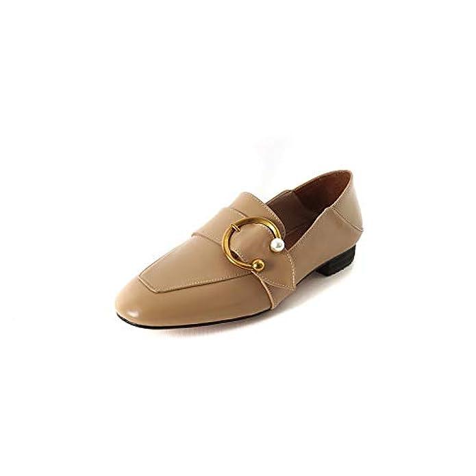 1to9 nbsp;da Donna Per Viaggi Pumps-shoes Uretano Pompe Scarpe Mms06576 Marrone apricot 35