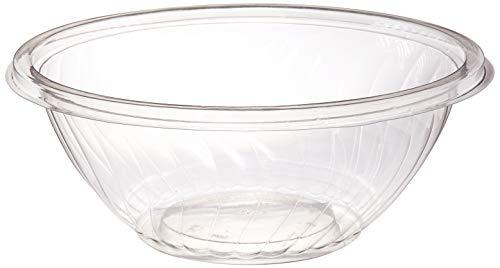 Amscan 438800.86 Tableware Bowl, 2.5 Quarts, Clear