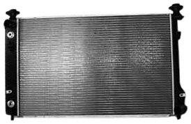 TYC 2879 Chevrolet/Pontiac 1-Row Plastic Aluminum Replacement Radiator