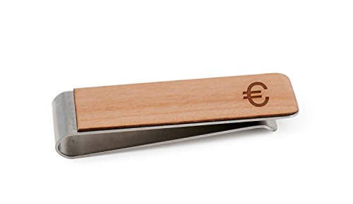 Euro Money Clip | Wood Money Clip (Money Clip Euro)