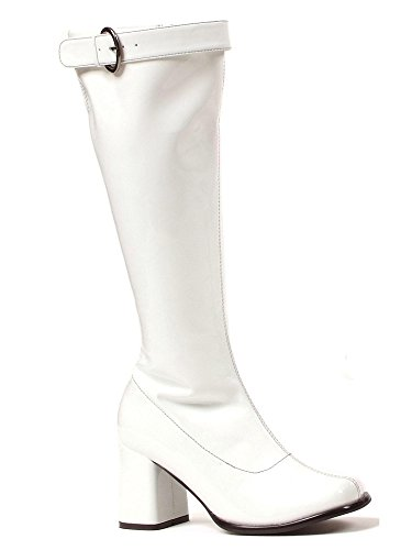 Ellie Shoes Women's 300-Hippie Boot, White, 9 M US