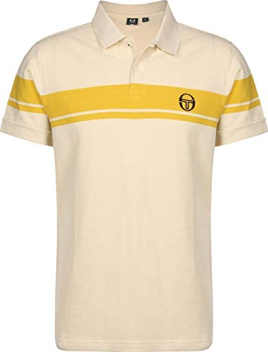 Sergio Tacchini Young Line Polo Buttercream/Mustard: Amazon.es ...