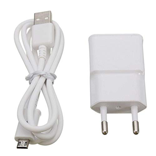 Hot Sale!UMFun Micro USB Cable Wall Charger Adapter EU Plug For Samsung Galaxy S3 S4 S6 (White)