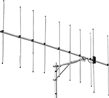 Diamond Antenna A144S10 - Base de luz para Yagi (Conector UHF (SO-239), 2 m (144-148 MHz)