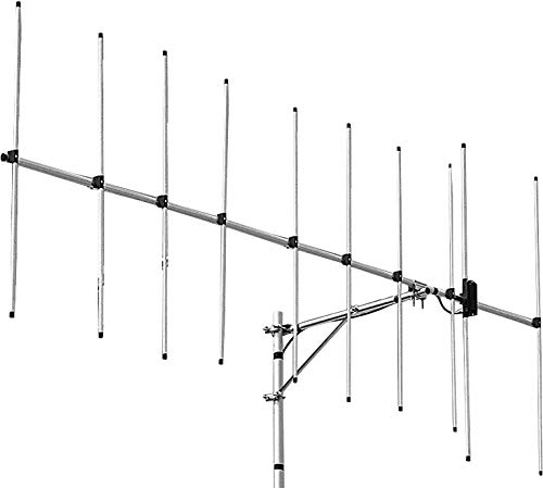 Diamond Antenna A144S10 2m (144-148MHz) 10 Element Base Station Yagi Beam with UHF (SO-239) Connector (Best 2 Meter Beam Antenna)