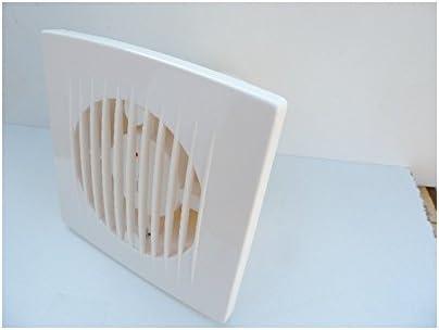 Aerateur mural blanc /Ø 120mm temporis/é 1-20min 230V d/ébit 195m3//h 20W 39db TIMER ALTERNATIVE ELEC AE60122
