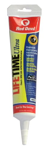 red-devil-0775-lifetime-ultra-premium-elastomeric-acrylic-latex-sealant-squeeze-tube-white-55-ounce
