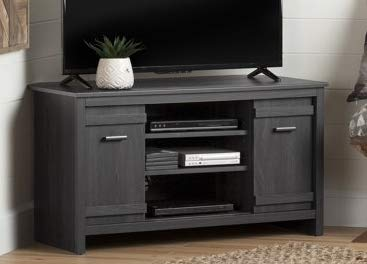 sale retailer 73fa3 b7671 Amazon.com: Tv Stands For Flat Screens 42 - Gray Wood Corner ...