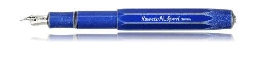 Kaweco AL Sport Stonewashed Fountain Pen, Blue, BB Nib (Extra Wide)