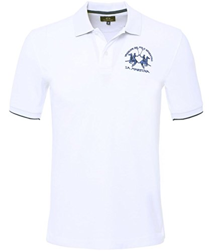 la-martina-plain-polo-shirt-white-m