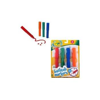 Amazon Com Crayola Bathtub Markers Toys Amp Games