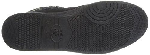 Le Temps des Cerises - Zapatillas de tela para mujer Noir (Revers Mono Black)