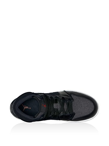 Nike 852548-002, Zapatillas de Deporte Para Niños Negro (Black / Gym Red / Dark Grey / White)