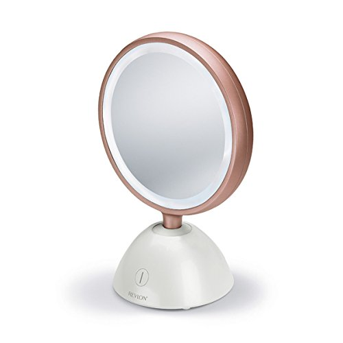 Revlon RVMR9029UKE - Espejo de belleza inalámbrico Ultimate Glow
