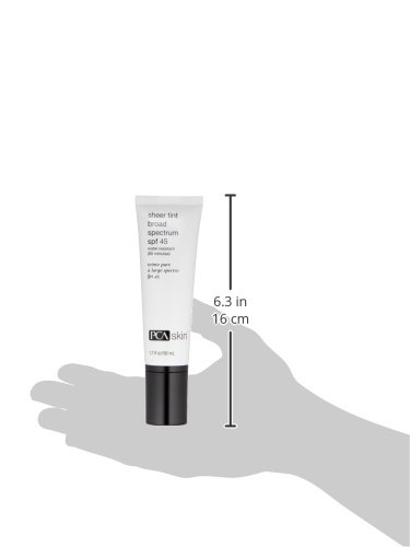 PCA SKIN Sheer Tint Broad Spectrum SPF 45, Mattifying Tinted Sunscreen, Water and Sweat Resistant UVA/UVB Protection, 1.7 fluid ounce by PCA SKIN (Image #6)
