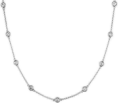 Every Way in the Cosmos Vintage Multistrand Necklace by Avon 26 inch G3