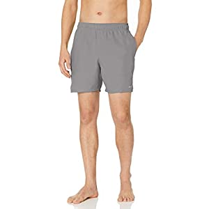 Nike Men's Solid Lap 7″ Volley Short Swim Trunk