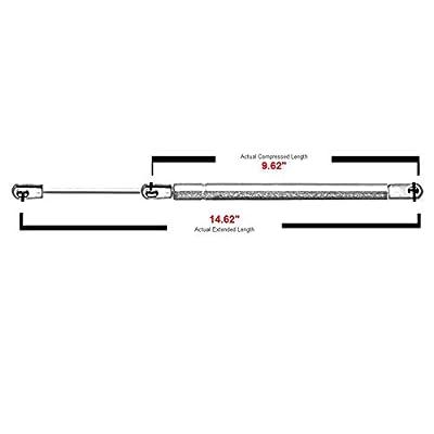 2 Pcs Front Hood Lift Supports Struts Shocks For 2003-2008 Infiniti FX35 FX45 SG371003 6365 PM1059: Automotive