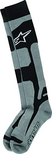 Alpinestars Men's 4702114-107-LXL Sock (Coolmax) (Black/Grey, ()