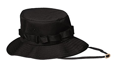 Rothco Jungle Hat, Black, Large
