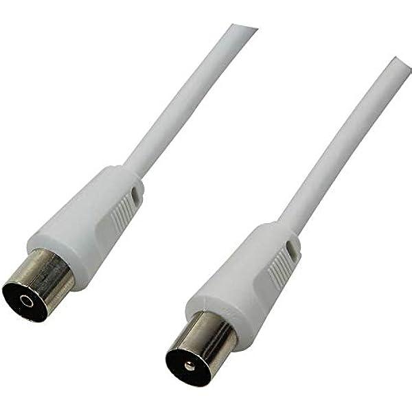 LogiLink CA1060 - Cable antena (male a female, 1.5 m): Amazon ...