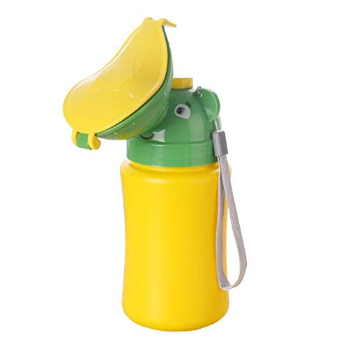 Inchant Portable Training Toilet for Toddlers - Baby Urinal Potty, Green